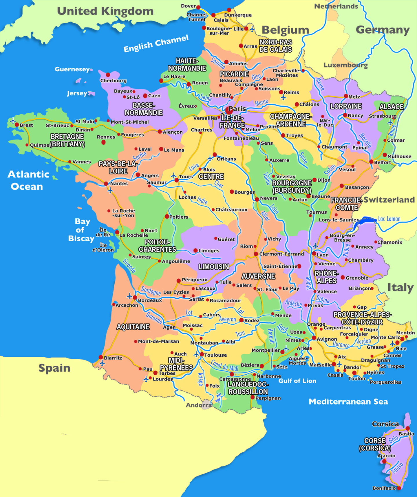 Map Of France And Luxembourg.Ds Rt 2014 Hotel Information